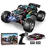 Strong driving force of such RC car derives from brushed DC electric motor.The 4WD truck has a maximum speed of 40km/h, bringing the driver great pleasure.The RC truck is the perfect gift for children and adults. Such vehicle adopts the classical mod...