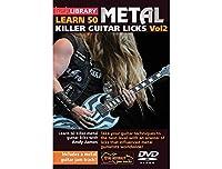 Learn 50 Killer Metal Licks Volume 2 For Guitar