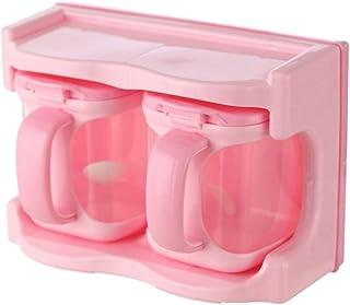 Ne jamais abandonner Fournitures de Cuisine assaisonnement Coffret Combinaison de ménage Multi-Fonction Shaker salière Bou...