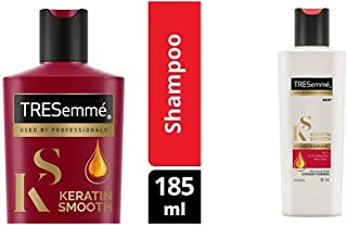 TRESemme Keratin Smooth Shampoo, 185ml And TRESemme Keratin Smooth Conditioner, 80ml