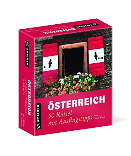 Österreich - 50 Rätsel mit Ausflugstipps (Kultur erleben im GMEINER-Verlag)