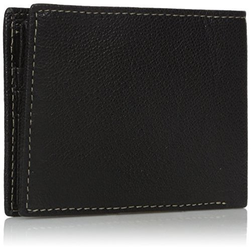Timberland Men's Genuine Leather RFID Blocking Passcase Security Wallet, black, One Size New Mexico