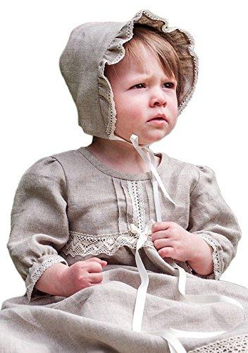 Grace of Sweden - Costume de baptême - Bébé (garçon) 0 à 24 mois Off white bow 80/86, 11-18 month, chest 20,5 in.