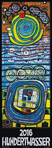 Hundertwasser Streifenkalender Art 2016