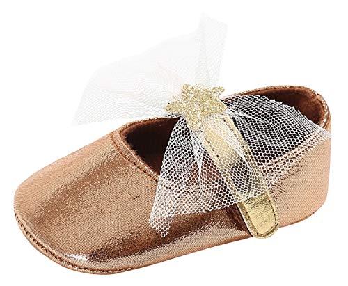 DEMU gymschoenen peuterschoenen babyschoenen meisjes dansschoenen ballerina's kruipschoenen Innelänge 12cm bruin