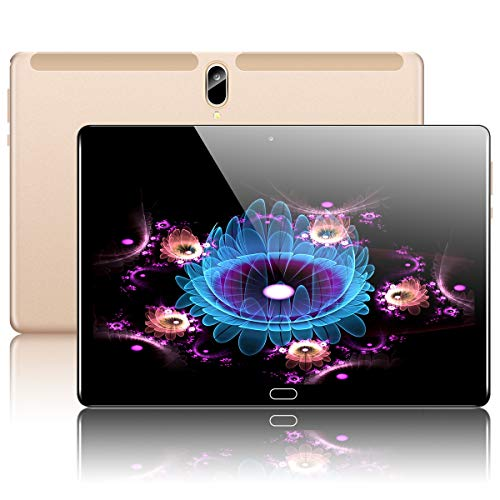 10.1'' Inch Google Android 10.0 Tablet, PADGENE 4G LTE Phablet Pad with 4GB...
