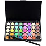 Gaddrt Cosmétique Matte Fard à paupières Palette de Maquillage Chatoyant Set 40 Color + Brush Set (B)