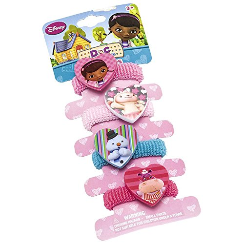 Joy Toy 116130 - Zöpfchenhalter Doc Mc Stuffins 4 Motive
