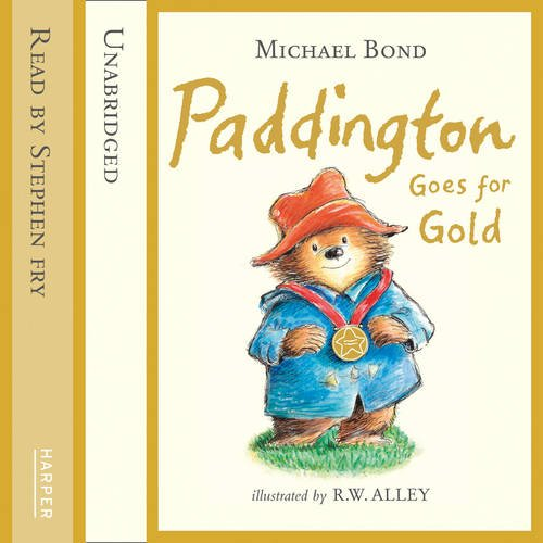 『Paddington Goes for Gold』のカバーアート