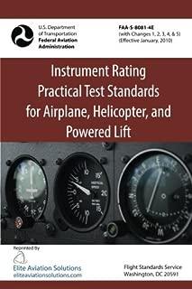 Best instrument pilot practical test standards Reviews