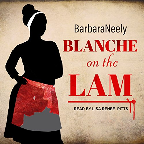 Blanche on the Lam audiobook cover art