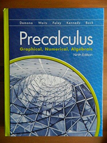Price comparison product image Precalculus: Graphical,  Numerical Algebraic
