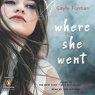 Where She Went audiobook cover art
