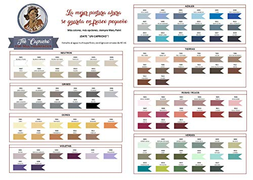 105 colores pintura multisuperficie Mate Hybrid Línea