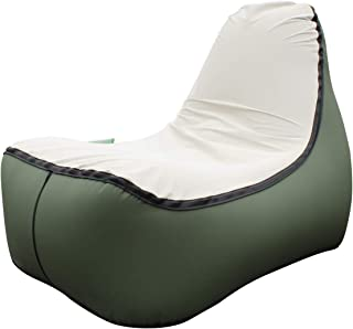 hybag Inflatable Lounger Sofa, Lazy Air Bed Beach Chair for Indoor Outdoor Hangout Air Chair Couch Hammock Lazy Bag