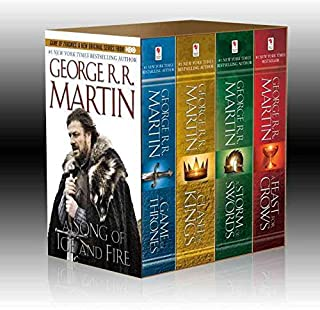 Game of Thrones Boxed Set: A Game of Thrones/A Clash of Kings/A Storm of Swords/A Feast for Crows