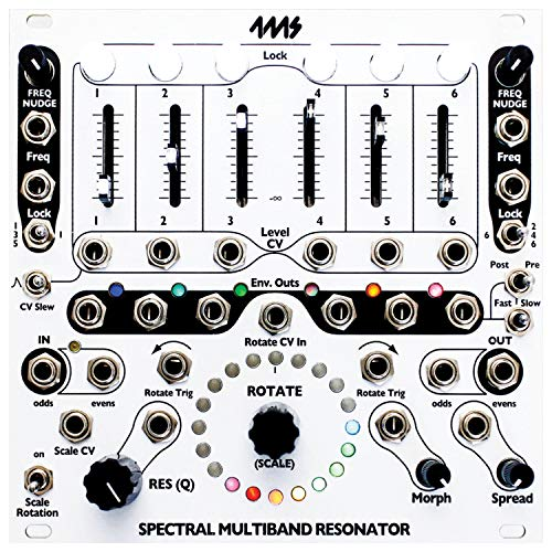 Buy Bargain 4MS SMR Spectral Multi-Band Resonator Eurorack Synth Module