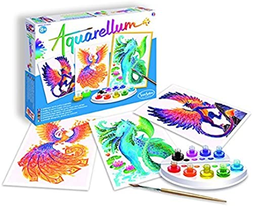 SentoSphere Aquarellum - Mythical Animals - Arts and Crafts WaterFarbe Paint Set by SentoSphere