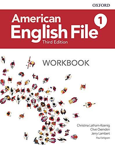 American English File 1 Workbook - 03Edition