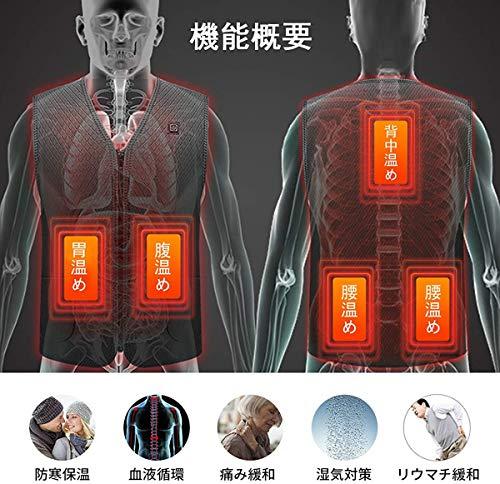 EXTSUD『3段調温電熱ベスト』