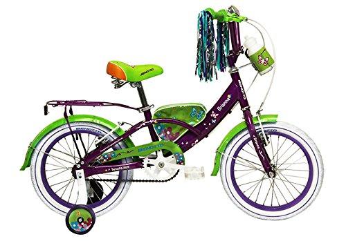 Benotto CRDBRI1601UNMO Bicicleta de Acero Rodada R16, Niña, 1 Velocidad