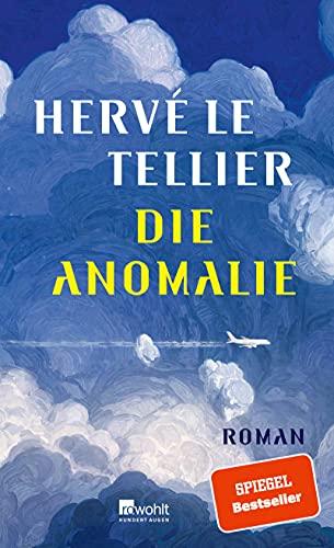 Buchseite und Rezensionen zu 'Die Anomalie' von Hervé Le Tellier