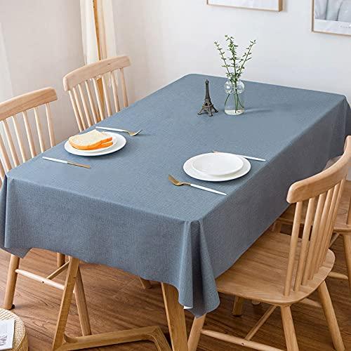 EMPERSTAR manteles Individuales plastico Restaurante de PVC Impermeable, a Prueba de Aceite y Anti-Quemaduras de Color Puro A 130x180cm