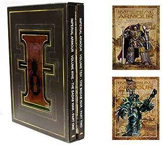 Imperial Armour 9 & 10 Boxed Set: Volume Nine and Ten - The Badab War [Part 1&2] Hardcover Sourcebook (Warhammer 40,000 40K 30K Games Workshop Forge World)