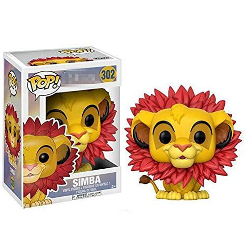 Klycbds Pop The Lion King Little Simba 302 Figura De Acción Colección De Vinilo Muñecas De Juguete Modelo