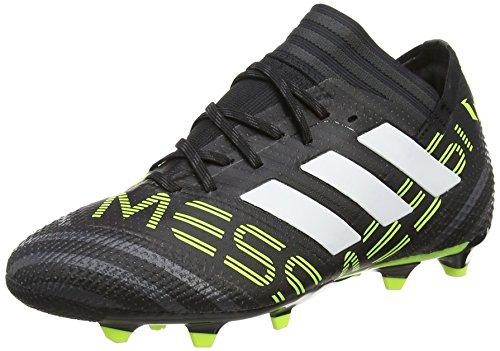 adidas Unisex-Kinder Nemeziz Messi 17.1 FG Fußballschuhe, Schwarz (schwarz schwarz), 36 2/3 EU