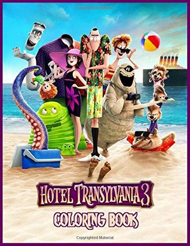 Hotel Transylvania 3 Coloring Book: Summer Vacation