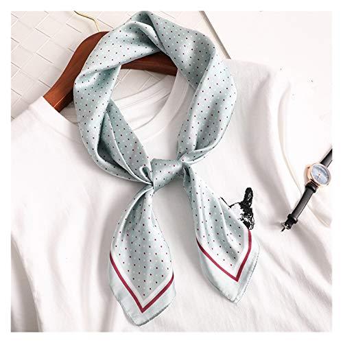 Moda Suave Bufanda de la bufanda de la bufanda de la bufanda de la bufanda de la seda de la seda de la seda pequeña de la moda del chal de la moda de la moda de las mujeres 70 * 70 cm bolsa cuadrada b