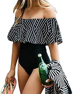 ملابس سباحة مونوكيني قطعة واحدة للنساء