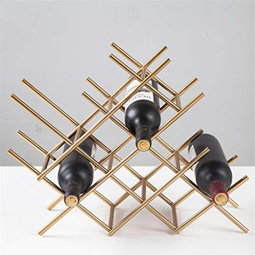 LBYSK Wine Rack Metallo Ristorante Morbida Vino Display Cabinet Camera del Vino della casa in Stile Europeo Irregolare Creative Multi-Tier Multifunzionale della Tazza del Vino Rack