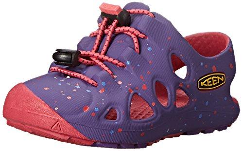 KEEN Rio Kinder Mädchen Schuhe Freizeit Sandale Badeschuhe Wassersandale Outdoor Slip-On, Schuhgröße:19, Farbe:violett