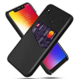 INSOLKIDON Compatible avec Motorola Moto One/Moto P30 Play Coque Coquille Dure PC Difficile Arrière...
