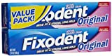 Fixodent Original Denture Adhesive Cream-2.4 oz, Twin Pack
