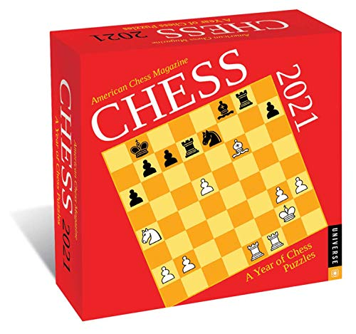 Chess 2021 DaytoDay Calendar: A Year of Chess Puzzles