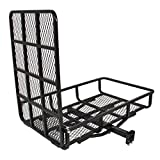 Best Choice Products Hitch Mount Carrier w/Mobility Ramp for Wheelchair Scooter, 500lb Capacity