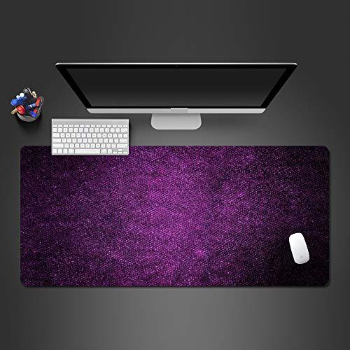 Alfombrilla de ratón púrpura Mate misteriosa Alfombrilla de ratón de PC Lavable de Goma Accesorios de computadora Alfombrilla de ratón Alfombrilla de ratón de la computadora y la Oficina 700x300x2