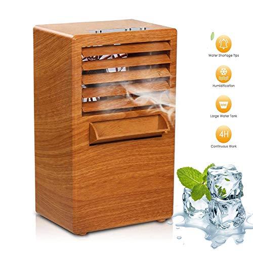 MEILINL Climatiseur Mobile Personal 3 en 1 Multifonction USB Portable Mini Ventilateur, Humidificateur Et Purificateur d'air avec 3 Vitesses pour Maison Bureau Dortoir