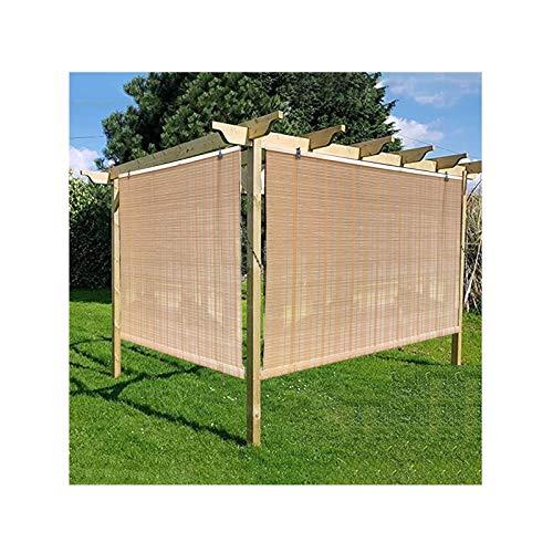 XYUfly20 Sombrilla Elevadora Cortina De Partición Opaca Diseño De Elevación con Cordón Protector Solar, Anti-envejecimiento, Material Indeformable. para Pérgola Exterior, Sombreado De Jardín