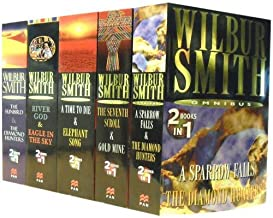 Wilbur Smith Omnibus Collection: A Sparrow Falls, the Sunbird & the Diamond Hunters, the Seventh Scroll & Gold Mine, a Time to Die & Elephant Song, River God & Eagle in the Sky
