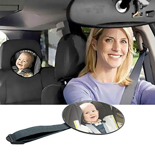 NBJKDFGDS Car Safety Back Seat Rearview Mirror Ajustable Baby Facing View Rear Ward Child Baby Safety Baby Kids Monitor Car Accessoires