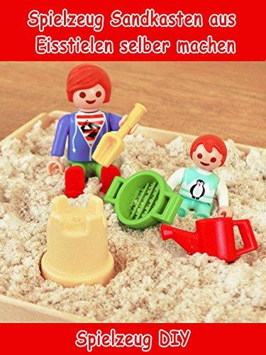 Clip: Spielzeug Sandkasten aus Eisstielen selber machen - Spielzeug DIY