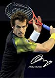 Andy Murray Signiertes Poster – 20 – DIN