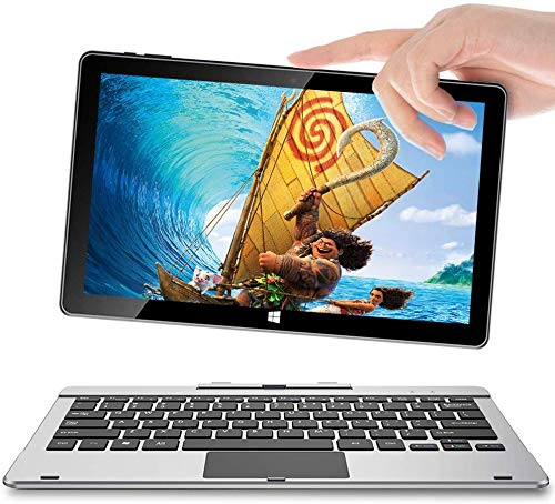 11.6 Inch Windows 10 Tablet, 2 in 1 Touch Screen Laptop, 6GB+64GB,Jumper EZpad 6 Pro Quad Core Processor Tablet with Keyboard