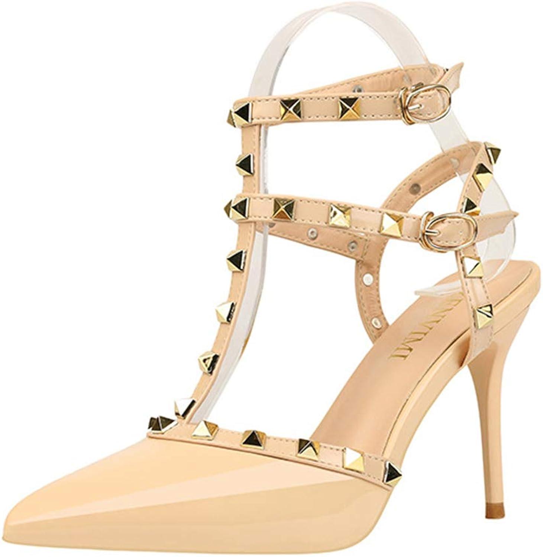 Linson123 Women's high Heels Business Office Comfortable high Heels Dress Sexy Stilettos
