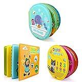 FLORMOON Baby-Badebücher Lehrreich Wasserdicht Baby Badezeit Plastikbücher für Kleinkinder, Kinder, Jungen und Mädchen