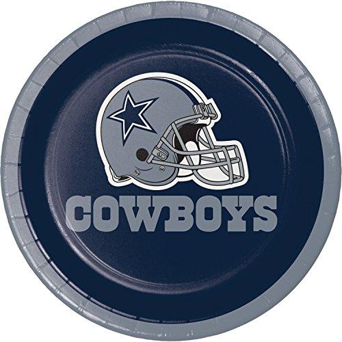 Dallas Cowboys Dessert Plates, 24 ct